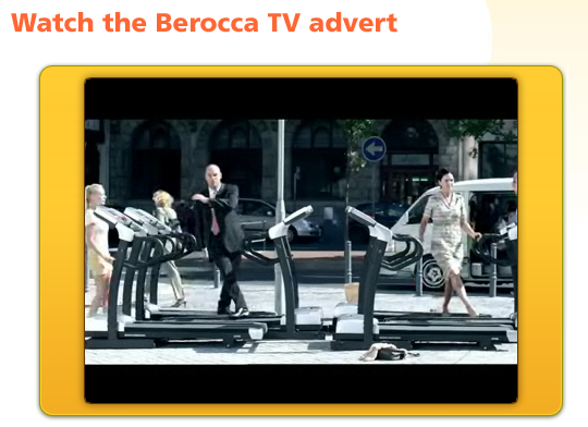 Berocca advert
