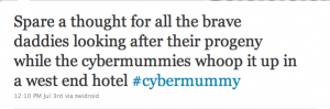CyberMummy widowers unite
